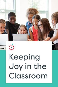 Teaching today is nothing like it was in the past. Gone are the days of loose curriculum, infrequent observations by your principal, and learning cursive; we now have structured lessons, unannounced walkthroughs by both the principal and the superintendent, and a lack of downtime. How do we keep joy in our classrooms — for the kids and also for us? Take a look at some tips for continuing to make teaching and learning fun.