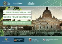Cleanweb Italy | #Cleanweb - Clean Four Elements Are you ready to change the world?