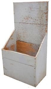 Country Treasures old wood box