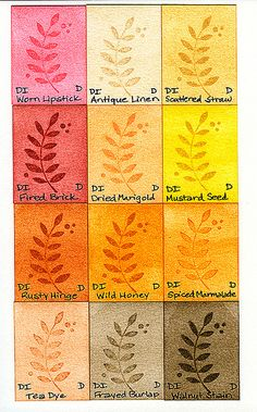 Distress Inks - Part 1 by prospurring (Anne), via Flickr
