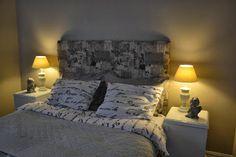 Den kreative kroken: Sengegavl Bedroom Color Schemes, Bedroom Colors, Beautiful Bedrooms, Furniture, Home Decor, Tutorials, Creative, Decoration Home, Room Decor
