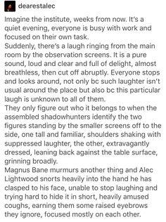 Shadowhunters, The Mortal Instruments, TMI, Magnus Bane, Alec Lightwood, Malec