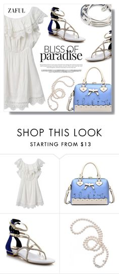 """Untitled #620"" by fashion-pol ❤ liked on Polyvore featuring Mikimoto and Lizzy James"