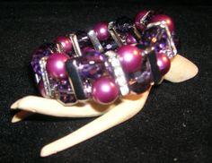 Bracciale AMELIA perle e bacchette strass