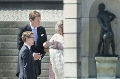 Baptême de Leonore de suède le 8 juin 2014