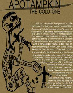 Apotamkin, a Native American version of the Vampire lore