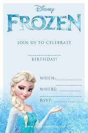 frozen birthday party invitations - Google Search
