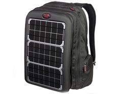 The Array Solar Backpack has 1,500 cubic inches of storage, a padded laptop sleeve, phone pouch, and plenty of pockets for holding onto even the smallest school supplies. But the really special feature is the front solar pocket that connects to a 60 Watt hour battery that can charge laptops, tablets, digital cameras, and iphones in as little as an hour! $389