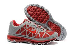 $46.98   Fake Mens Nike Air Max 2011 Stealth Challenge Red Shoes