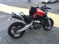 Yamaha Motorbikes, Cafe Racer Bikes, Scrambler, Custom Bikes, Cars And Motorcycles, Racing, Vehicles, Wheels, Gadgets