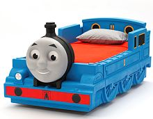 Thomas The Train Room Decor | Train bed and Dresser
