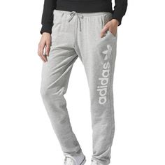 adidas Originals LIGHT LOGO TP Women - e-shop CRISH.CZ  #adidasOriginals #sweatpants #Crishcz
