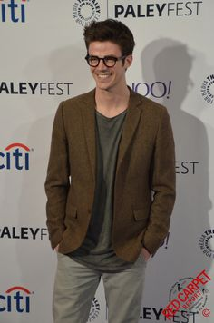 Grant Gustin at PaleyFest 2015 for Arrow and The Flash Event #PaleyFest - DSC_0140