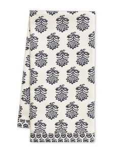 Pachar Mix & Match Towels from Willaims & Sonoma $14.95 based on traditional Indian block prints - W stuff right now is primarily similar repeats to this, scientific type drawings of fruits & veggies and kitchen utensils