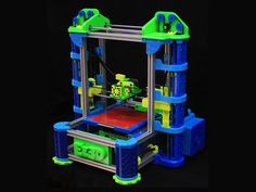 The EZ3D Desktop Printer by Jake Wood, via Kickstarter.  The new 3D printer with user friendly software and a superior printing experience.