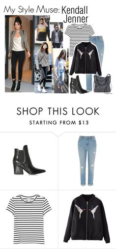 """Style Muse: Kendall Jenner"" by darling-ange1 ❤ liked on Polyvore featuring Kendall + Kylie, River Island, Monki and Ina Kent"
