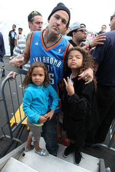 jaseminedenise:    I'm not one to normally post pictures of celebrity's kids, but Yelawolf has some incredible genes! Clearly, if I ever had kids, (Lmao, riiight) I would need to hunt him down. Look at them, they're adorable!    Bi-Racial baby magic!!