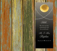 $20 for 20 #DoorHangers #DoNotDisturb #RusticWEdding #CountryWEdding #outdoorWedding by http://www.bestwelcomebags.com