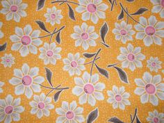 BTY DAISY COTTAGE Print 100% Cotton Quilt by TweetysHangout
