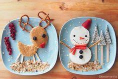 Fun christmas food // Comidas navideñas divertidas.