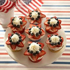 4th of July cupcakes?