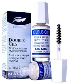 Mavala Double-Lash. For you other ladies who shun mascara, my favorite product for long, healthy lashes. One of the biggest face agers is tweezing your brows too thin. Help them grow back with this.