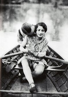 Adorable vintage love with a slice of naughty
