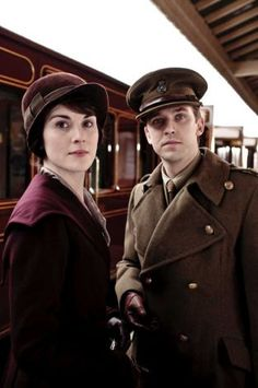 Matthew &  Mary ... Downton Abbey! Oh yes, I love this show!