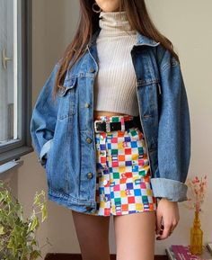 Women's Streetwear Fashion & Clothing – Minga London Hippie Outfits, Retro Outfits, Cute Casual Outfits, Vintage Outfits, 80s Inspired Outfits, 80s Style Outfits, 70s Inspired Fashion, 80s And 90s Fashion, Quirky Fashion