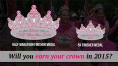 Earn this Bling; Divas Half Marathon, Galveston