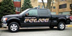 Police Truck - Stevens Point, Wisconsin