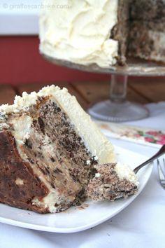 Chocolate Chip Cookie Millionaire Cake