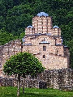 ravanica monastery, built in XIV century