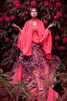 Bohemian Aesthetic Photography by Kirsty Mitchell Kirsty Mitchell Wonderland, Editorial Fashion, Fashion Art, Fashion Cover, Floral Fashion, Fashion Trends, Images Esthétiques, Foto Fantasy, Look Boho