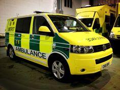 West Midlands Ambulance Services's MERIT vehicle - Volkswagen T5