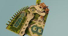 Villa und Gärten Minecraft Projekt - Minecraft, Pubg, Lol and Plans Minecraft, Minecraft Villa, Minecraft Garden, Minecraft Structures, Minecraft Castle, Minecraft Medieval, Minecraft Tutorial, Minecraft Blueprints, Cool Minecraft