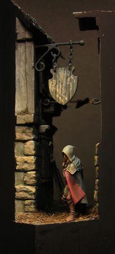 Thief Diorama.