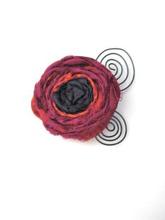 Wearable Whimsy in magenta orange and black  by CheekyChickDesigns, $12.00