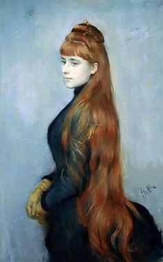 Paul César Helleu (1859–1927) Portrait of Alice Guérin, 1900.