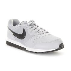 Nike  MD Runner 2 GS  807316003  Color BlackGreyWhite  Size 60 -- You can find more details by visiting the image link.