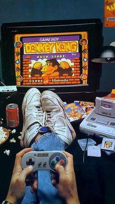 Vintage Video Games, Retro Video Games, Retro Games, Watch Cartoons, 90s Cartoons, Game Boy, Nostalgia, 80s Aesthetic, Retro Wallpaper