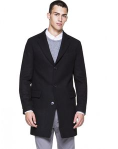 Single-breasted coat - NEW COLLECTION - MAN