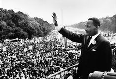 """""""I Have a Dream"""" speech   MLK  Washington 1963.  He was assassinated on April 4, 1968. Another sad day."""