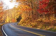 48 Hour Fall Getaways for couples in Virginia