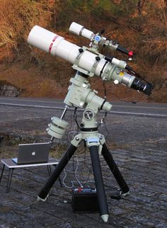 Space Guide Setup 1 - Astrophotography is a hobby rapidly gaining popularity thanks to the fast advancing CMOS sensor technology. Over a decade ago, the light recording Memes Do Facebook, Diy Telescope, Cmos Sensor, Space And Astronomy, Deep Space, Night Photography, Stargazing, Outer Space, Galaxies