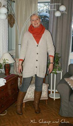 XL Cheap & Chic: Poltettua oranssia ja lauantailinkki  - Burned ora...