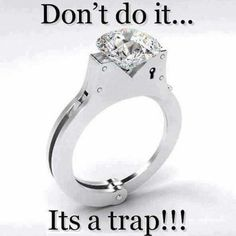 Lol Funny But Would Love This As A Wedding Ring U Stuck