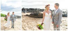 A Moment of Awe ~ Robyn & Ronald's Maui Elopement Maui Beach, Maui Hawaii, Hawaii Elopement, Hawaii Wedding, Maui Weddings, Destination Weddings, Bridal Hair Tips, Beach Wedding Locations, Beach Wedding Inspiration