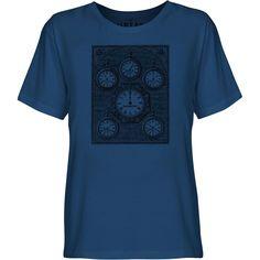 Mintage Antique International Clock Youth Fine Jersey T-Shirt