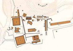 """Olimpia. Maqueta del Santuario. Guia turística de Grecia. Juegos Olímpicos. Peloponeso."""""""